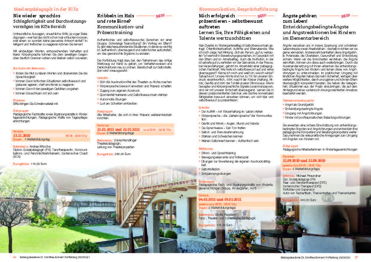 14 Kurs-Programm 2020-2021