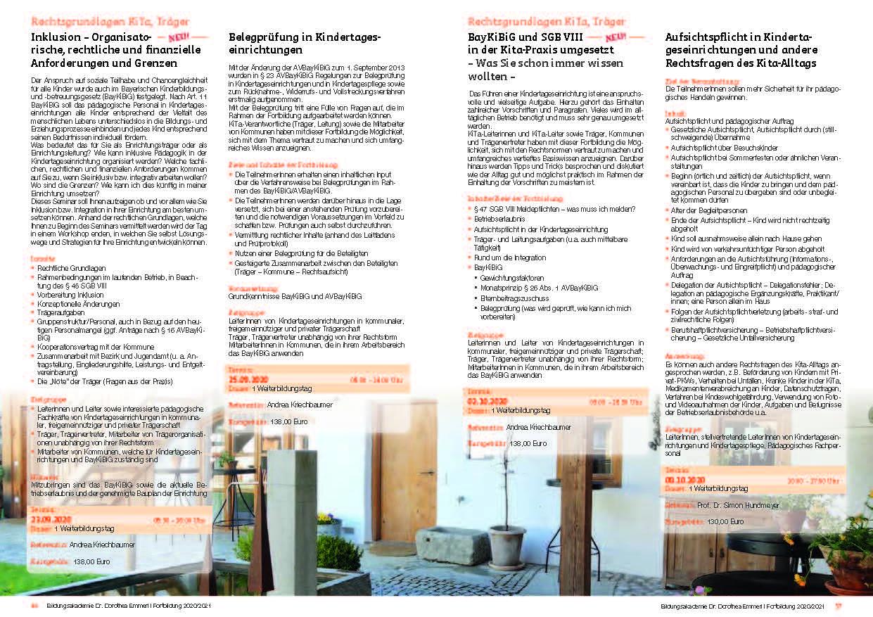 19 Kurs-Programm 2020-2021